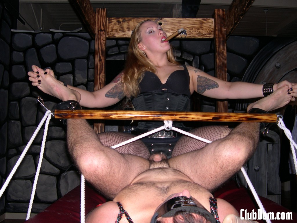 Bdsm chicktrainer uncensored orgasm