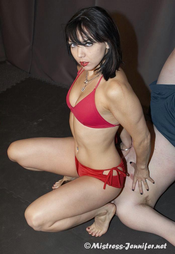 Mistress Jennifer - BDSM Dominatrix FemDom! Check it out now!