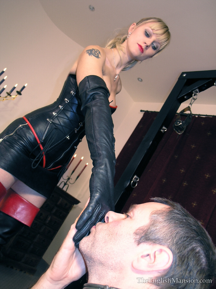 Showing Porn Images for Leather gloves femdom porn   www.porndaa.com
