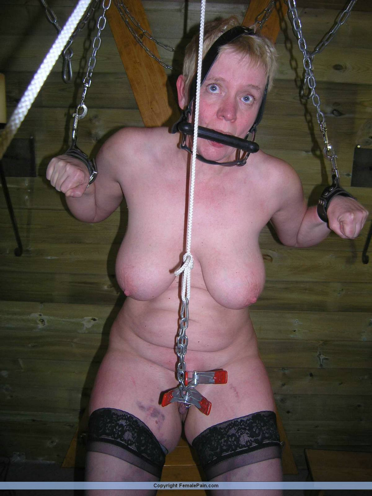 water sex and Bondage