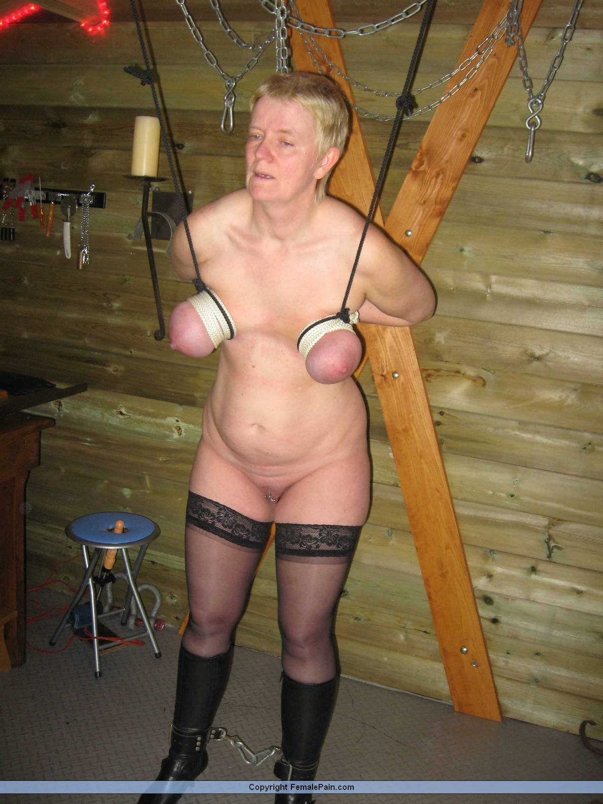 Agree, the Granny bdsm pain amateur can suggest