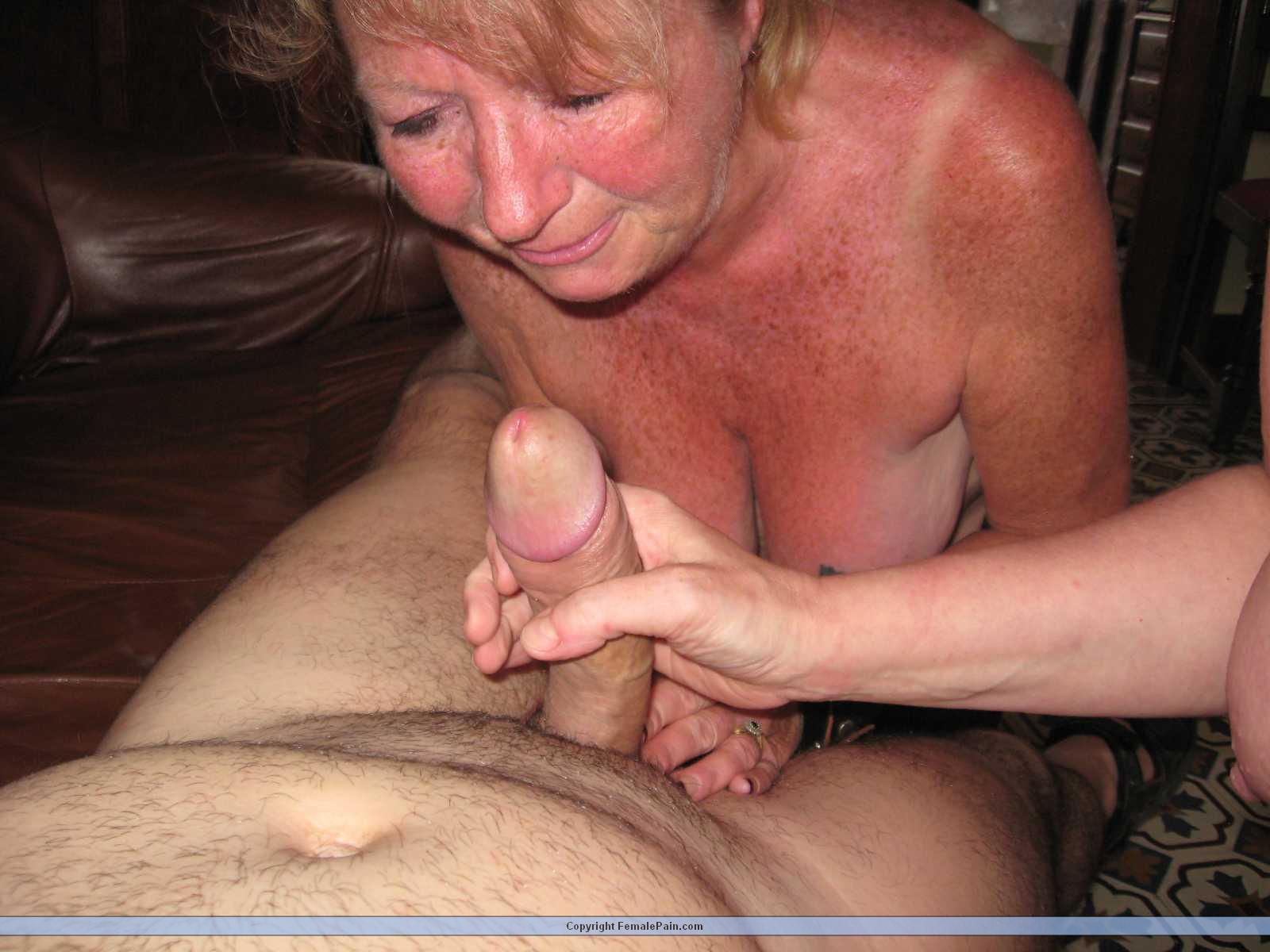 Blonde pussy fuck