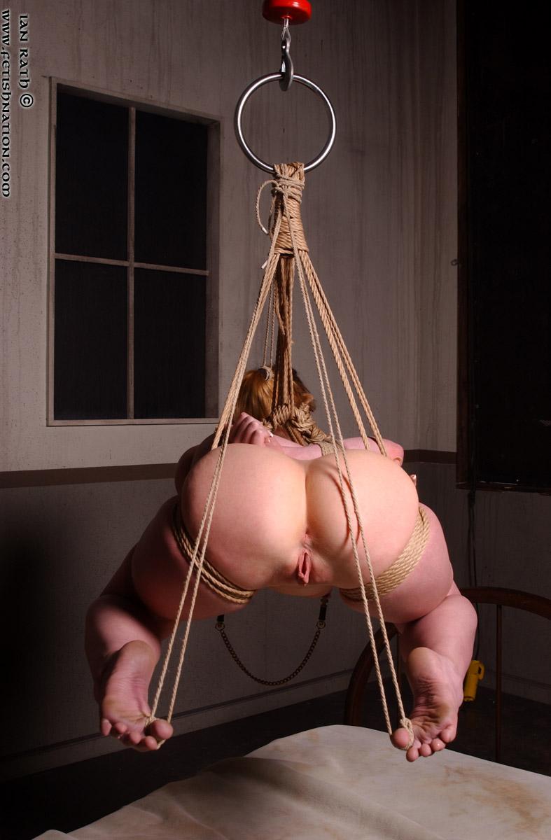 Бдсм связывание веревкой подвешивание секс