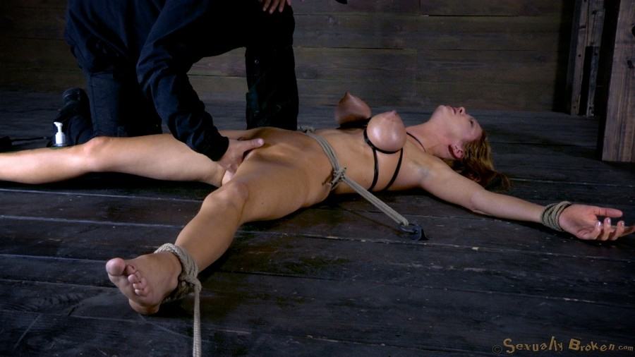 Extreme bdsm hogtied women tube