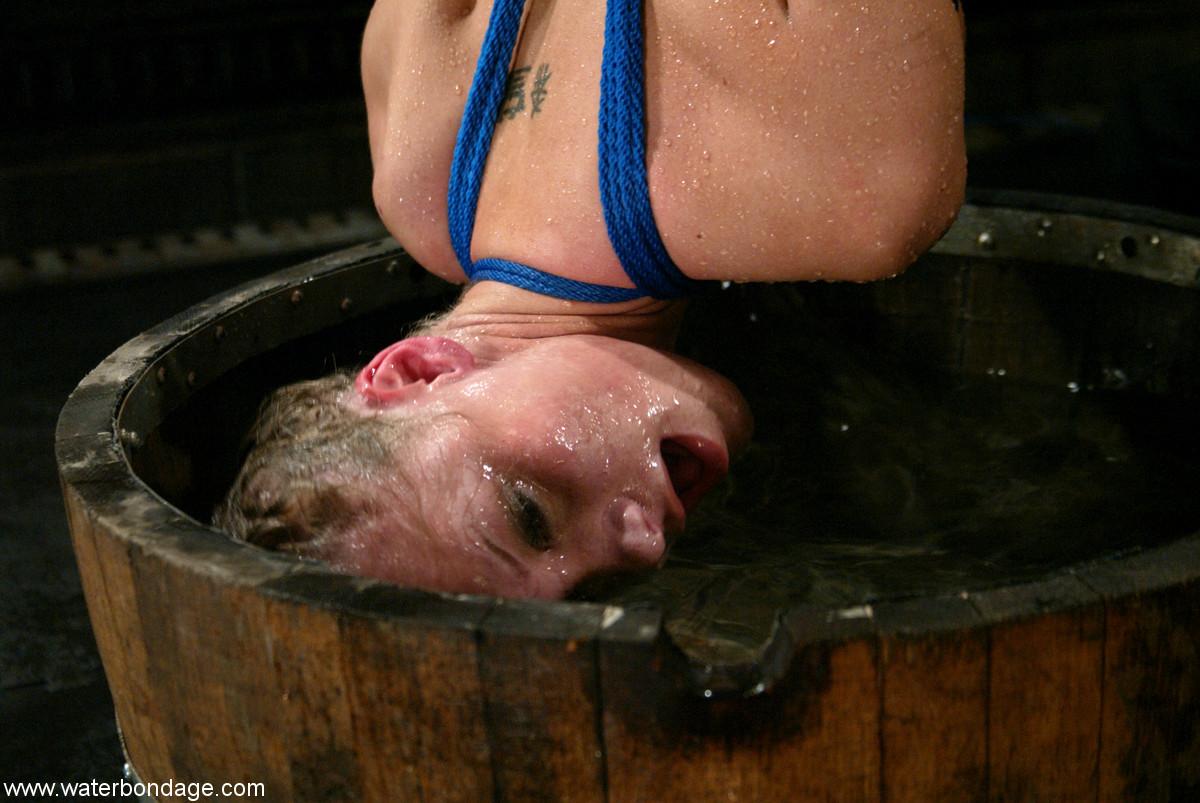 Bdsm women underwater tortured