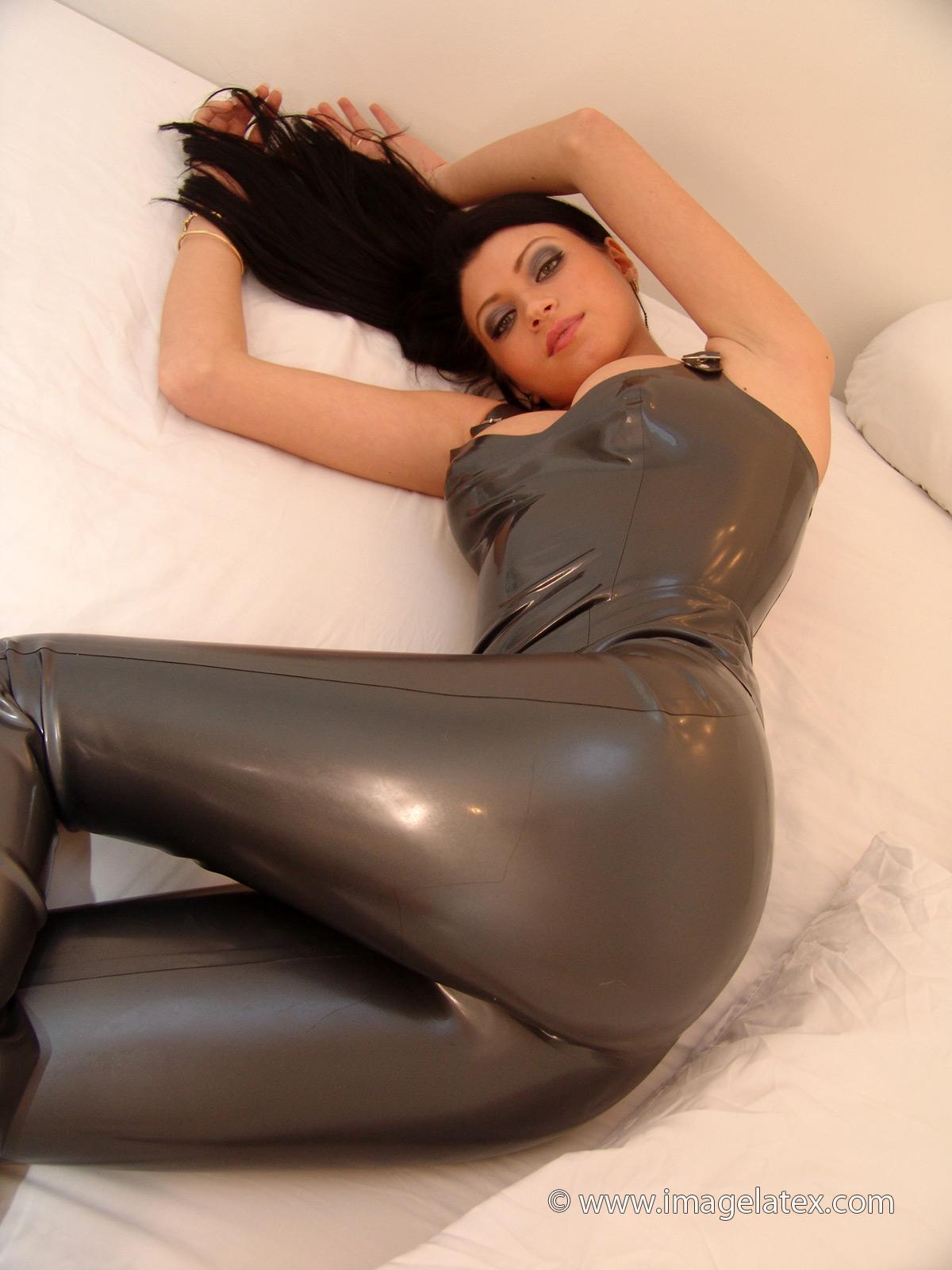 More modest leather fetish garb consider