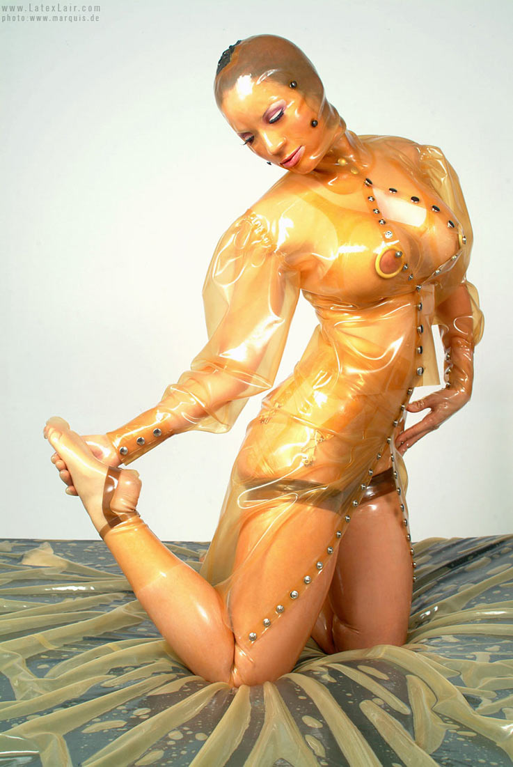 Bianca beauchamp latex bondage